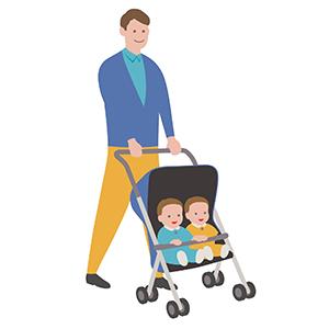 マリレポ管理人(2児の父親)